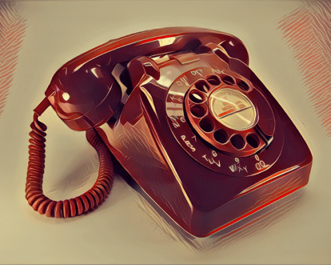 nostaljik telefon