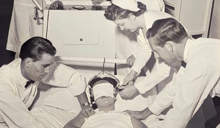 elektroşok ile tedavi