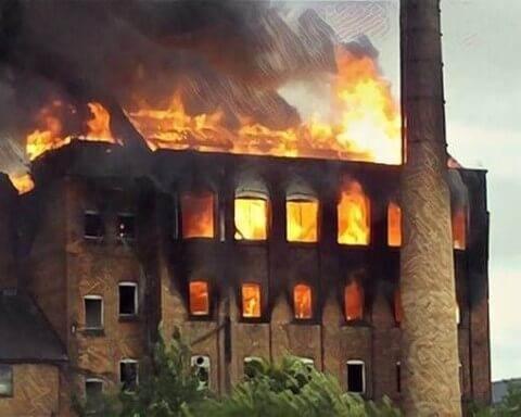 fabrikalar neden yakılıyor
