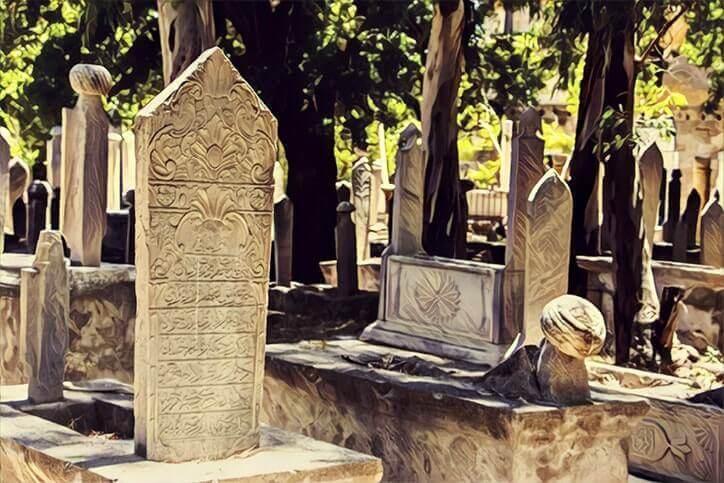 istanbul mezarlık
