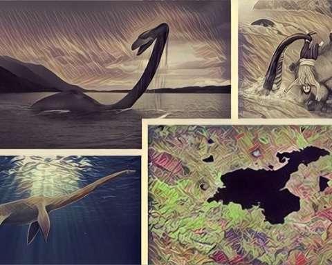 van gölü canavarı