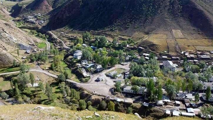 Mailuu-Suu, Kırgızistan